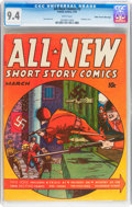 Golden Age (1938-1955):Superhero, All-New Comics #2 Mile High pedigree (Harvey, 1943) CGC NM 9.4 White pages....