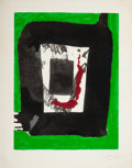 Prints:Contemporary, ROBERT MOTHERWELL (American, 1915-1991). Untitled (fromThe Basque suite), circa 1971. Screenprint in colors.22-3/4...