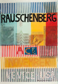 Prints:Contemporary, ROBERT RAUSCHENBERG (American, 1925-2008). ACE-VENICE-USA,1977. Color offset lithograph. 71-1/2 x 50 inches (181.6 x 12...