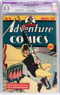 Adventure Comics #48 (DC, 1940) CGC Apparent VF+ 8.5 Moderate (P) Cream to off-white pages
