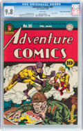 Golden Age (1938-1955):Superhero, Adventure Comics #96 Mile High pedigree (DC, 1945) CGC NM/MT 9.8 White pages....