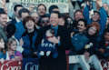 Photographs:Digital, UNKNOWN; KEN GEIGER and DAVID WOO . Untitled (Al Gore &Baby); Henry Cisneros; Democratic National Convention (group...(Total: 3 Items)
