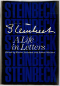 Books:Biography & Memoir, Elaine Steinbeck and Robert Wallsten, Editors. SIGNED.Steinbeck: A Life in Letters. New York: Viking, [1975].First editi...