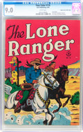 Golden Age (1938-1955):Western, Four Color #118 The Lone Ranger - Mile High Pedigree (Dell, 1946)CGC VF/NM 9.0 White pages....