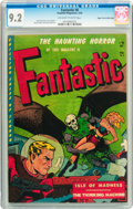Golden Age (1938-1955):Horror, Fantastic #8 Mile High pedigree (Youthful Magazines, 1952) CGC NM- 9.2 Off-white to white pages....