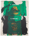 Prints:Contemporary, ROBERT MOTHERWELL (American, 1915-1991). St. Michael III,1979. Lithograph and screenprint in colors. 40-1/2 x 31-1/2 in...