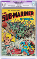 Golden Age (1938-1955):Superhero, Sub-Mariner Comics #1 (Timely, 1941) CGC Apparent FN+ 6.5 Slight (P) Off-white pages....