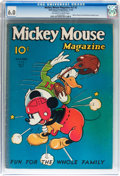 Platinum Age (1897-1937):Miscellaneous, Mickey Mouse Magazine V2#2 (K. K. Publications/ Western Publishing Co., 1936) CGC FN 6.0 Off-white to white pages....