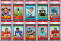 Football Cards:Sets, 1971 Topps Football High Grade 1st Series Complete Run (132). ...