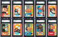 Baseball Cards:Sets, 1960 Topps Baseball Near Set (570/572). ...