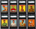 Olympic Cards:General, 1933 Goudey Sport Kings SGC Graded Collection (14). ...