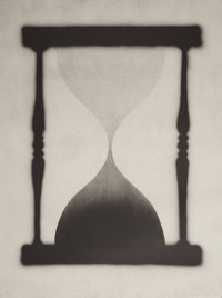 ED RUSCHA (American, b. 1937) Time is Up, 1989 Lithograph in colors 36 x 27 inches (91.4 x 68.6 c