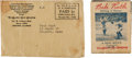 Baseball Collectibles:Others, 1934 Babe Ruth Quaker Oats Movie Flip Book....