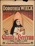 """Movie Posters:Drama, Cradle Song (Paramount, 1933). French Affiche (24"""" X 31.25""""). Drama.. ..."""