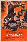 "Movie Posters:War, Attack! (United Artists, 1956). Poster (40"" X 60""). War.. ..."