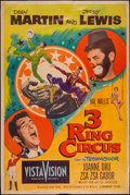 "Movie Posters:Comedy, 3 Ring Circus & Other Lot (Paramount, 1954). Posters (2) (40"" X60"") Style Z. Comedy.. ... (Total: 2 Items)"