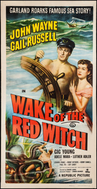 """Wake of the Red Witch (Republic, 1949). Three Sheet (41"""" X 80""""). Adventure"""