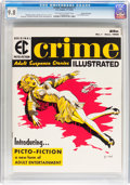 Magazines:Crime, Crime Illustrated #1 Gaines File Copy 5/11 (EC, 1955) CGC NM/MT 9.8Off-white to white pages....