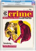 Magazines:Crime, Crime Illustrated #2 Gaines File Copy pedigree 7/12 (EC, 1956) CGC NM+ 9.6 Off-white to white pages....