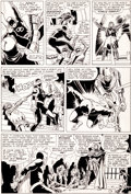 Original Comic Art:Panel Pages, Bob Powell and Wally Wood Daredevil #9 Page 10 Original Art(Marvel, 1965)....