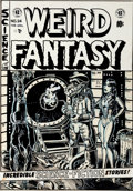 "Original Comic Art:Covers, Larry Todd Nickel Library Series ""Weird Fantasy #24 Cover""Original Art (San Francisco Comic Book Co., c. 1973)...."