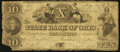 Obsoletes By State:Ohio, Dayton, OH- The State Bank of Ohio, Dayton Branch Counterfeit $10July 4, 1849 C604 Wolka 1003-29. ...
