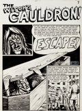 "Original Comic Art:Complete Story, Al Feldstein Vault of Horror #16 Complete 7-Page Story ""Escape"" Original Art (EC, 1950).... (Total: 7 Original Art)"
