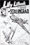 "Original Comic Art:Panel Pages, Spain Rodriguez Zap Comix #11 ""Lily Litvak, the Rose ofStalingrad"" Partial Story Original Art (Last Gasp, 1985)....(Total: 9 Items)"
