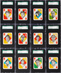 Baseball Cards:Sets, 1951 Topps Baseball Blue Backs SGC Graded Near Set (49/52) - #1 on the SGC Set Registry. ...