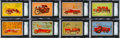 """Non-Sport Cards:Sets, 1953 Bowman """"Fire Fighters"""" Complete Set (64). ..."""