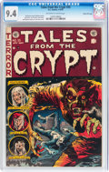 Golden Age (1938-1955):Horror, Tales From the Crypt #35 Gaines File Copy (EC, 1953) CGC NM 9.4Off-white to white pages....