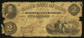 Obsoletes By State:Ohio, Dayton, OH- The State Bank of Ohio, Dayton Branch Counterfeit $2July 15, 1861 C582a Wolka 1003-14. ...