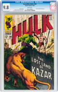 Silver Age (1956-1969):Superhero, The Incredible Hulk #109 (Marvel, 1968) CGC NM/MT 9.8 Whitepages....