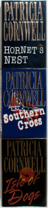 Books:Mystery & Detective Fiction, Patricia Cornwell. Hornet's Nest, Southern Cross and Isleof Dogs. New York: Putnam, 1996-2001. All sig... (Total: 3Items)