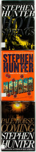 Books:Horror & Supernatural, Stephen Hunter. Havana, Pale Horse Coming, and HotSprings. New York: Simon Schuster, 200-2003. Hot Sp...(Total: 3 Items)