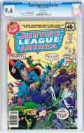 Modern Age (1980-Present):Superhero, Justice League of America CGC-Graded Group (DC, 1979-82) CGC NM+9.6 White pages.... (Total: 6 Comic Books)