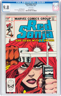 Modern Age (1980-Present):Miscellaneous, Red Sonja V3#1 (Marvel, 1983) CGC NM/MT 9.8 White pages....