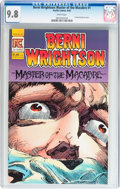 Modern Age (1980-Present):Horror, Berni Wrightson, Master of the Macabre #1 (Eclipse, 1983) CGC NM/MT9.8 White pages....