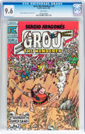 Modern Age (1980-Present):Humor, Groo the Wanderer #2 (Pacific Comics, 1983) CGC NM+ 9.6 Whitepages....
