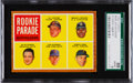 Baseball Cards:Singles (1960-1969), 1962 Topps Rookie Parade SP #598 SGC 88 NM/MT 8....