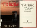 """Books:Mystery & Detective Fiction, Sue Grafton. SIGNED. """"F"""" is for Fugitive. New York: HenryHolt, 1989. First edition. Signed. Octavo. 261 pages. Publ..."""