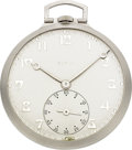 Timepieces:Pocket (post 1900), Elgin Platinum C.H. Hulburd, circa 1926. ...