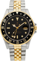 Timepieces:Wristwatch, Rolex Ref. 16710 Steel & Gold GMT Master II, circa 1989. ...