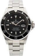 Timepieces:Wristwatch, Rolex Ref. 16610 Steel Submariner, circa 2009. ...