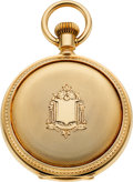 Timepieces:Pocket (pre 1900) , Elgin Mint 14k Gold 21 Jewel Grade 72 Convertible, circa 1880. ...