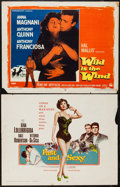 "Movie Posters:Comedy, Fast and Sexy & Other Lot (Columbia, 1960). Half Sheets (2) (22"" X 28""). Comedy.. ... (Total: 2 Items)"