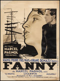 "Movie Posters:Foreign, Fanny (Les Films Marcel Pagnol, 1932). French Affiche (24.5"" X 33.5""). Foreign.. ..."