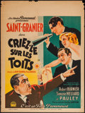 """Movie Posters:Foreign, Shout It from the House Tops (Paramount, 1932). French Affiche (23.5"""" X 31.5""""). Foreign.. ..."""