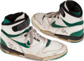 Baseball Collectibles:Others, 1987-88 Sidney Moncrief Game Worn Shoes. ...
