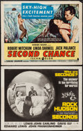 """Movie Posters:Thriller, Second Chance & Other Lot (RKO, 1953). Half Sheets (2) (22"""" X28""""). Thriller.. ... (Total: 2 Items)"""